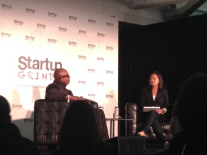 MC Hammer ont he Startup Grind Stage