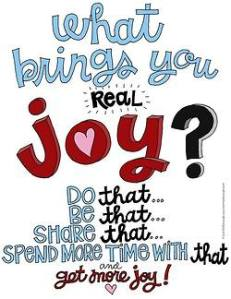what brings you joy