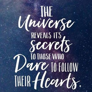 the universe reveals its secrets