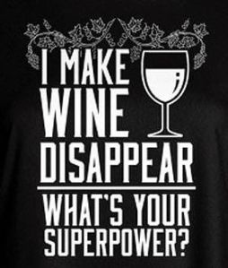 i make wine disappear superpower